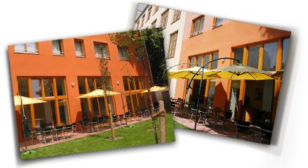 Hotel 26: Sommerterrasse / Café